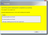 The network path was not found – MDT